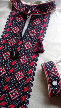 Ukraine, from Iryna, Embroidery Dress, Embroidery Stitches, Embroidery Patterns, Cross Stitch Patterns, Ukraine, Ethno Style, Palestinian Embroidery, Ethnic Fashion, Couture