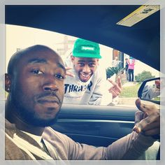 Photo of the Day: Freddie Gibbs & Tyler, The Creator Freddie Gibbs, Vince Staples, Denzel Curry, Lil Yachty, Rap Wallpaper, Tyler The Creator, People Of Interest, Important People, Big Sean