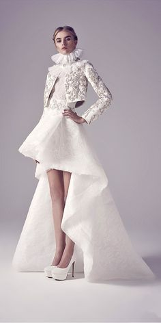 Most Popular Exotic Wedding Dresses From Ashistudio ❤ See more: http://www.weddingforward.com/exotic-wedding-dresses/ #weddings