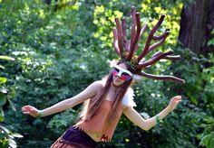 Cosplay Ducha lasu z Mononoke  Moje dzieło z 2014 roku