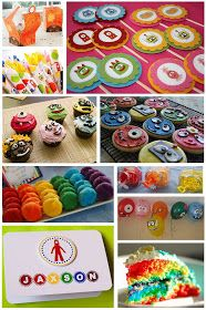 Yo Gabba Gabba Birthday Party Ideas