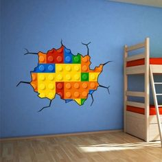 Effect Style Bricks Wall Stickers.
