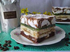Tradycyjna kuchnia Kasi: Ciasto Hrabina Polish Desserts, Polish Recipes, Food Cakes, Cupcake Cakes, Polish Cake Recipe, Ukrainian Desserts, Cake Recipes, Dessert Recipes, Homemade Cakes