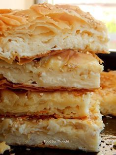 Visit the post for more. Greek Desserts, Greek Recipes, Cookbook Recipes, Cooking Recipes, Greek Pastries, Savory Muffins, Greek Dishes, Mediterranean Recipes, Food For Thought