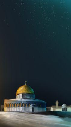 Palestine, 🇵🇸 Masjid al aqsa, illustration. Fb Cover Photos Quotes, Pray For France, Space Artwork, Mekkah, Kite Flying, Beautiful Mosques, Islamic Wallpaper, Islamic World, Photo Logo