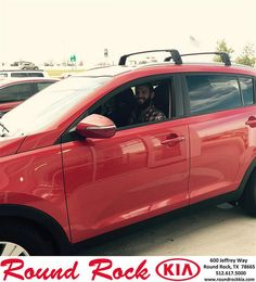 Congratulations to Harvey Randall on your #Kia #Sportage purchase from Aaron Ismail at Round Rock Kia! #NewCar