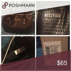 """Kenneth Cole Reaction handbag NWT Reaction by Kenneth Cole. 12"""" x 6.5 x 9"""". 6"""" drop. Kenneth Cole Reaction Bags Totes"""