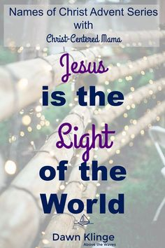 Why is Jesus called the Light of the World? The world can be a dark place but there is a beautiful hope to be found in Christ Jesus. He is the light of the world and I would love to explain a few reasons why this is so. Trust In Jesus, Why Jesus, Light Of Life, Light Of The World, Christian Living, Christian Faith, Christian Women, Let God, How To Find Out