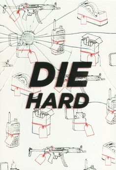 #FilmDooCreativity poster competition entry by Daniel Glee! His interpretation of Die Hard is absolutely smashing.