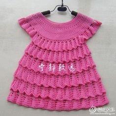 Crochet Dress Pattern Baby dress pattern Crochet lace dress Crochet dress baby Toddler dress Crochet pattern Crochet dress for newborn by Fashionisting Crochet Baby Dress Pattern, Baby Dress Patterns, Crochet Baby Clothes, Crochet Jacket, Crochet Patterns, Crochet Cardigan, Moda Crochet, Free Crochet, Crochet Stitch
