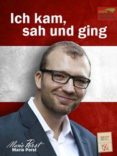 OMS-Wahlplakat Mario Porst Seo, Mario