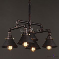 Like These Industrial DecorDesigns? Visit Us For More Industrial Iron Pipe Lamp Ideas Like These Industrial DecorDesigns? Visit Us For More Industrial Iron Pipe Lamp Ideas 5 Light Chandelier, Pendant Chandelier, Pendant Light Fixtures, Light Fittings, Ceiling Fixtures, Ceiling Lamp, Pendant Lighting, Loft Lighting, Pipe Lighting