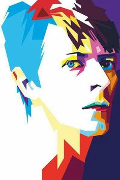 David Bowie... beautiful artist's rendition