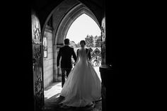 Leaving the Church as Mr & Mrs :) #church #churchwedding #blackandwhite #veil #weddingveil #weddingideas #weddinginspirations #weddingdress #weddinggown #bride #groom #me&mrs #NRP #neilridleyphotography #fearless #wedaward #bridebook #brideandgroom #love