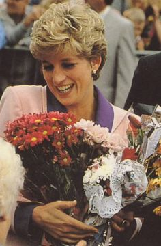 Princess Diana in Kingston upon Hull, Yorkshire 24th June 1992