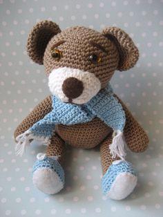 10/19/13 Teddy Bear - link to free pattern