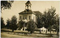 Madera Public Schools, Madera, California. Images taken 1909-1911 by George Besaw of Reedley, California. Public schools were originally designed to be magnificent structures - a testament to the value of education. Unfortunately, California earthquakes and safety standards forced the demolition of most of California's early schools.…