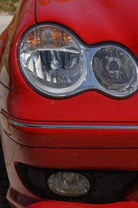 my headlights on my SUV were cloudy and yellowed. Kits at Auto stores were 15.00 to 20.00 to buy. I used dawn dish washing soap, hydrogen peroxide and baking soda. it was like magic.. cleaned them like new. This is what ehow recomended