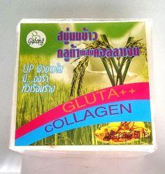 Glutathione Herbal Whitening Thai Soap by Galong 60g/2.1oz   `USASELR #Galong