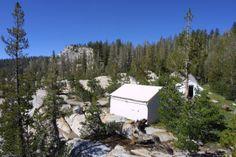 Sunrise High Sierra Camp in Yosemite This was my favorite camp