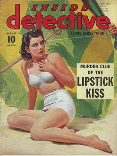 Albert Fisher / Inside Detective, Aug. 1940