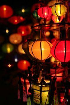 Hoi An silk lanterns