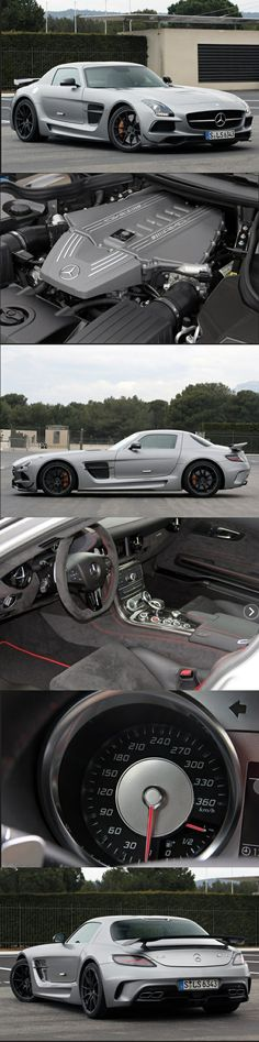 2014 Mercedes-Benz SLS AMG Black Series. Yummy.