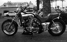 Mad Max - supercharged Yamaha Vmax