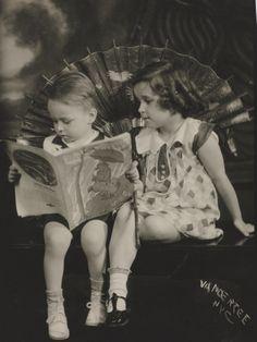 Portrait of Siblings.