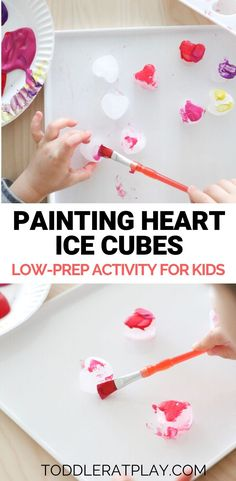 Super simple and quick to prep sensory and fine motor skills activity for toddlers and preschoolers.