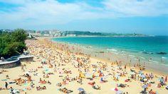 Photos of Spain   Description Playa Sardinero - Santander - Spain.jpg