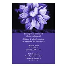 Discount DealsViolet Floral Bloom Bridal Shower Invitationin each seller & make purchase online for cheap. Choose the best price and best promotion as you thing Secure Checkout you can trust Buy best