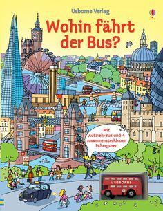Wohin fährt der Bus?: mit Fahrspuren und Aufziehbus: Amazon.de: Fiona Watt, Stefano Tognetti: Bücher