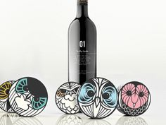 Hushhh…Soap & Wine Packaging by Rosie Gopaul