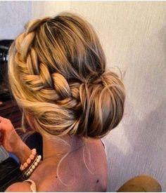 Braided Bun Updos Hairstyles 2015 Ideas