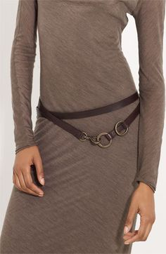 LOVE the dress... donna karan belt.  This is me!