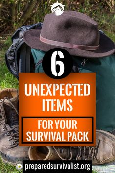 besides the essential survival gear basics you have in your survival pack there are some unusual survival items you can take with you. This post has 6 unexpected items for your survival pack that you can use next time you pack your survival gear