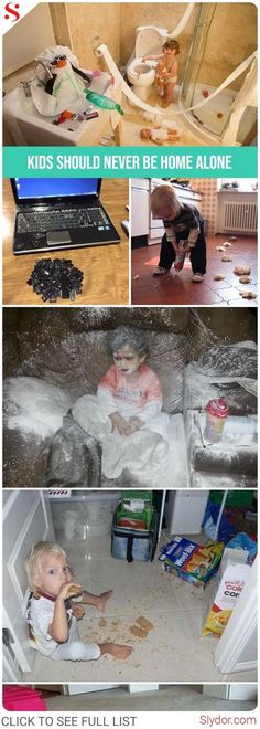15+ Reasons Why Kids Should Never Be Home Alone #kids #homealone #messups #fail #fails #parenting #fun #funny #humor #slydor #dailydoseoffun