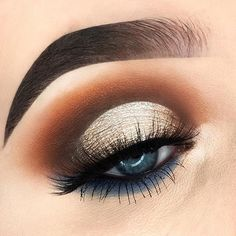 24 Sexy Eye Makeup Looks Give Your Eyes Some Serious Pop - Sleek and defined look eye makeup #makeup