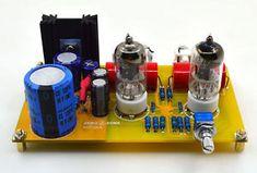 $25 - Assembeld hifi PRT-01A 6J1 tube preamp Vacuum tubes preamplifier board | eBay