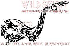 Tribal+Dragon+Ankle+Tattoo+by+WildSpiritWolf.deviantart.com+on+@deviantART