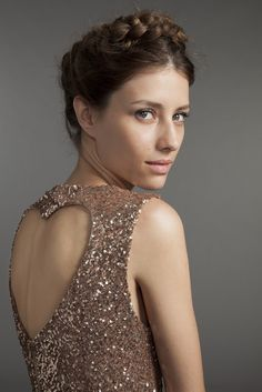 www.adorestyle.co.uk Glamour, Girly, One Shoulder, Sequins, Formal Dresses, Sparkle, Garden, Fashion, Dress Black