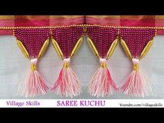 How to make saree kuchu ,tassels easily at home, saree kuchu jewellery model,saree kuchu design # 31 - YouTube
