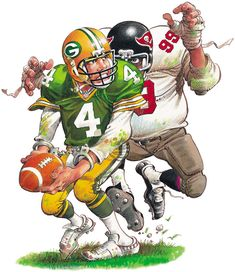 OH CRAP!!! Sports Art, Illustrators, Cool Art, Nfl, Football, Cartoon, Superhero, Artist, Fictional Characters
