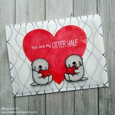 Sou Creations : You are my otter half (My Favorite Things)