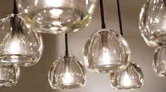 Alison Berger, Crystal Sphere....I always love this pendant.  its classic and modern and simply beautiful