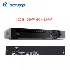 Techage 8CH 5MP 16CH 4MP 32CH 1080P 2MP CCTV NVR Motion Detect ONVIF Security Network Video Recorder For IP Camera System Kit  Price: $ 119.99 & FREE Shipping   #computers #shopping #electronics #home #garden #LED #mobiles