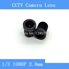Factory direct surveillance camera lens M12 interfaces  F2 fixed aperture 1080P 2.8mm CCTV lens