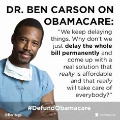 Dr. Ben Carson... What a great idea!!  I sure wish he would run for President!!  He has my vote!!!    Oh wait. I'm a conservative I'm racist.  Bottom line. I'd vote for Dr Carson