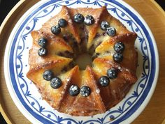 Recipe for Quark Cake with Blueberries & Lemon. -*****Heaven on a fork every single time - Brandon and Co.